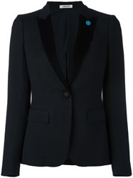 Lardini Two Button Blazer Black