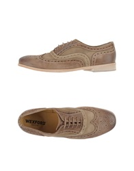 Wexford Lace Up Shoes Khaki