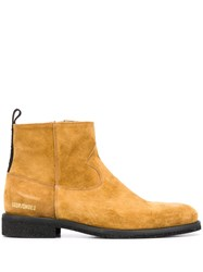 Golden Goose Toro Suede Ankle Boots Brown