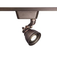 W.A.C. Lighting Caribe 874 Led Low Voltage Track Head Brown