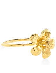 Alex Monroe Gold Plated Flower Ring