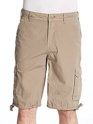 Buffalo David Bitton Horlan Bermuda Shorts Mist