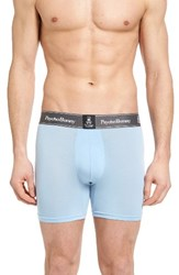 Psycho Bunny Men's Luxe Stretch Boxer Briefs Blue Bell