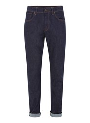 Selected Homme Navy Slim Jeans