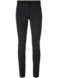 Veronica Beard Classic Fitted Trousers Black