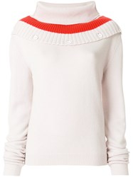 Tomas Maier Soft Cashmere Sweater Nude And Neutrals