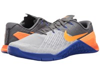 Nike Metcon 3 Wolf Grey Tart Dark Grey Paramount Blue Men's Cross Training Shoes White