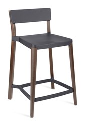 Emeco Lancaster Counter Stool Black