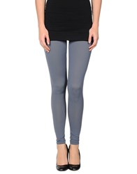 Oblique Trousers Leggings Women Grey