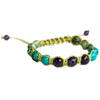 Soul Journey Jewelry Happiness And Peace Energy Bracelet Multi