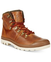 Palladium Men's Pallabrouse Hiker Boots Men's Shoes Sunrise Red Safari