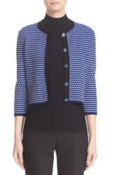 St. John Women's Collection Atlantis Knit Cardigan