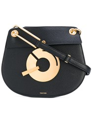 Tom Ford Xbody Show Shoulder Bag Women Calf Leather One Size Black