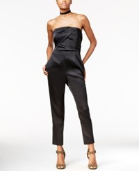 Rachel Roy Strapless Jumpsuit Only At Macy's Black