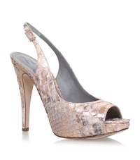 Gina Boa Snakeskin Courts Female Bronze