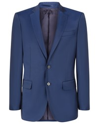 Jaeger Wool Twill Modern Jacket Navy
