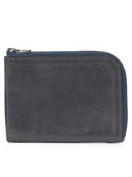 Isaac Reina Zipped Wallet Black