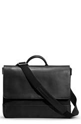 Shinola Men's Canvas And Leather Messenger Bag