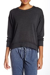 Central Park West The Foster Cropped Tee Black