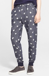 Paul Smith Star Print Sweatpants Navy