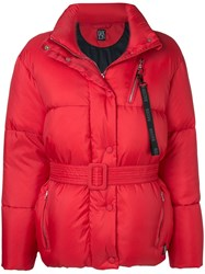 Bacon Big Boo Puffer Jacket Red