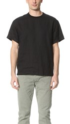 Steven Alan Burn Pull Over Shirt Black