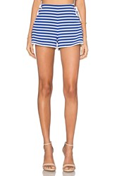 Clover Canyon Tie Side Short Blue