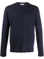 Jil Sander Round Neck Knitted Jumper 60