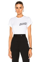 Stella Mccartney All Is Love Embroidery T Shirt In White