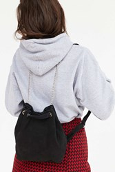 Urban Outfitters Hana Harness Bucket Backpack Black