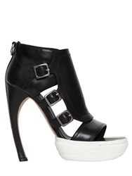 Alexander Mcqueen 135Mm Leather Sandal
