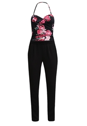 Morgan Pimi Jumpsuit Noir Black