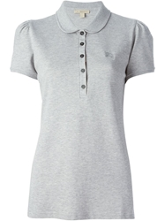 Burberry Brit Peter Pan Collar Polo Shirt Grey
