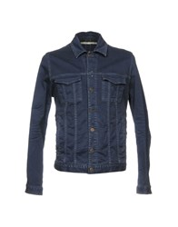 M.Grifoni Denim Outerwear Blue