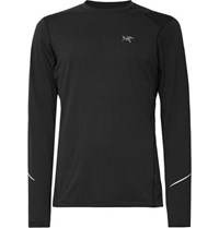 Arc'teryx Motus Phasic Fl T Shirt Black