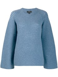 Theory Oversized Jumper Blue