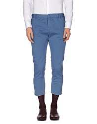Band Of Outsiders Trousers Casual Trousers Men Slate Blue