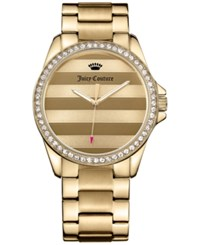 Juicy Couture Women's Laguna Gold Tone Stainless Steel Bracelet Watch 36Mm 1901289