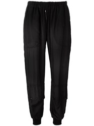 Katharine Hamnett Elasticated Trousers Black