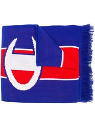 Champion Fringe Logo Scarf Red