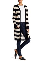 Joseph A Two Pocket Stripe Duster Beige