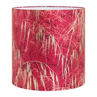 Clarissa Hulse Three Grasses Lamp Shade Hot Pink Fuschia Gold