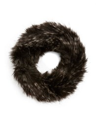 Parkhurst Faux Fur Headband Black Multi