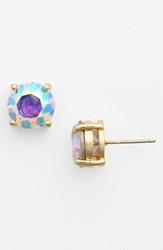 Bp Stone Stud Earrings Juniors Iridescent Gold