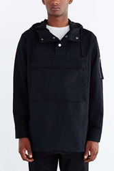 Charles And 1 2 Envelope Pocket Anorak Jacket Black
