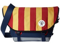 Crumpler Barney Rustle Blanket Iconic Messenger Bag Red Gold Messenger Bags