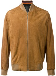Paul Smith Bomber Jacket Brown