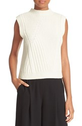 Diane Von Furstenberg Women's Ediva Wool And Cashmere Mock Neck Sweater