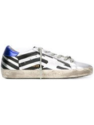 Golden Goose Deluxe Brand 'Super Star' Sneakers Metallic