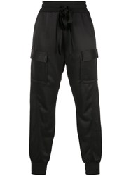 Manning Cartell Cropped Cargo Trousers Black